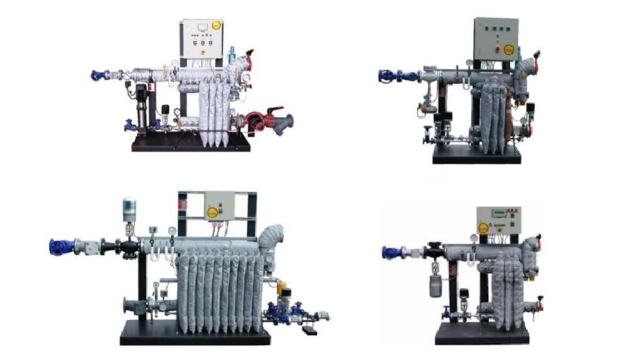 Steam / Water Modular Heat Transfer Units